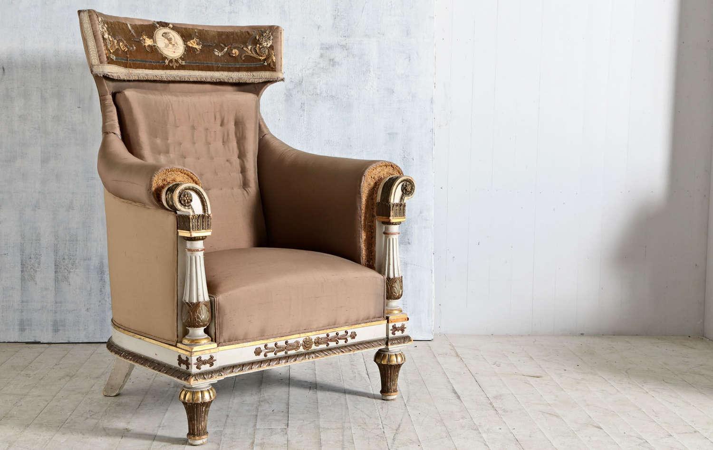 19th century Italian poets chair