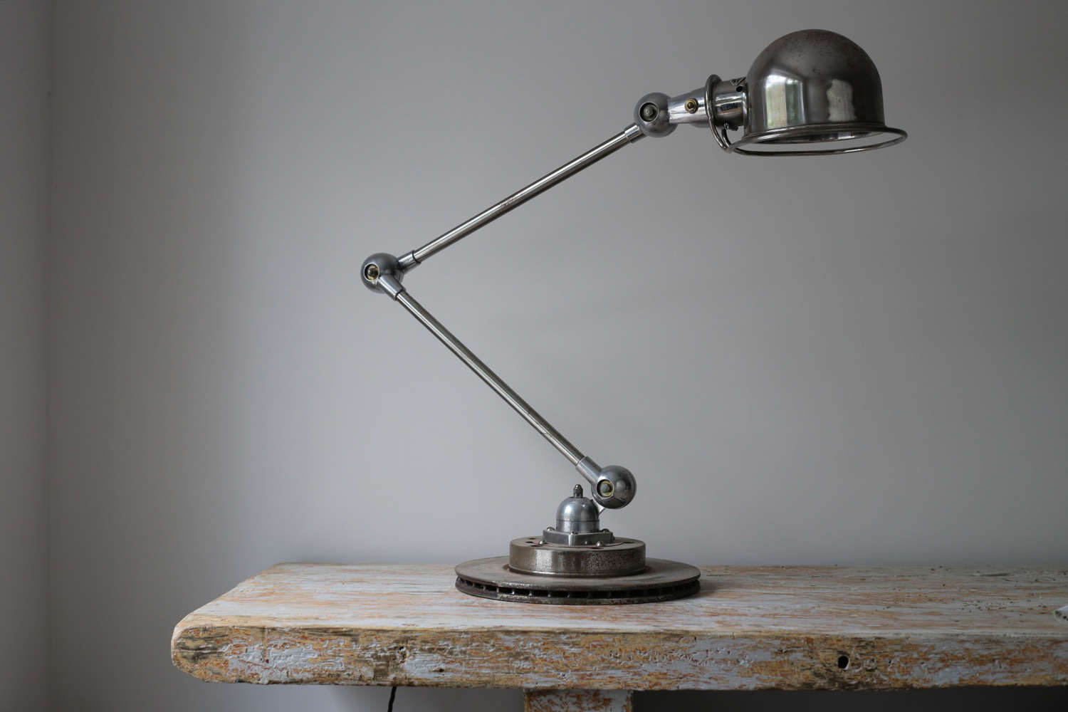 20th century French industrial worklamp by Jielde