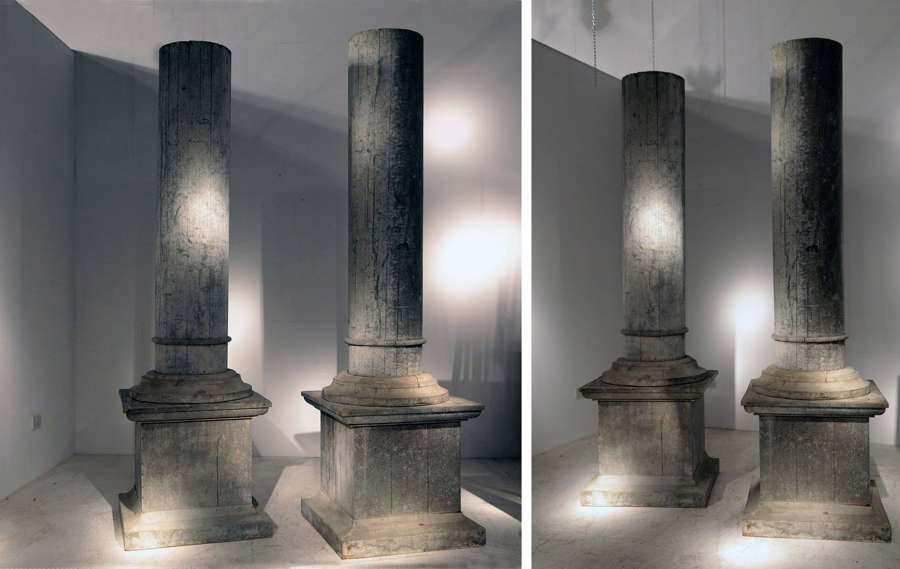 Pair of 19th century French Directoire Columns