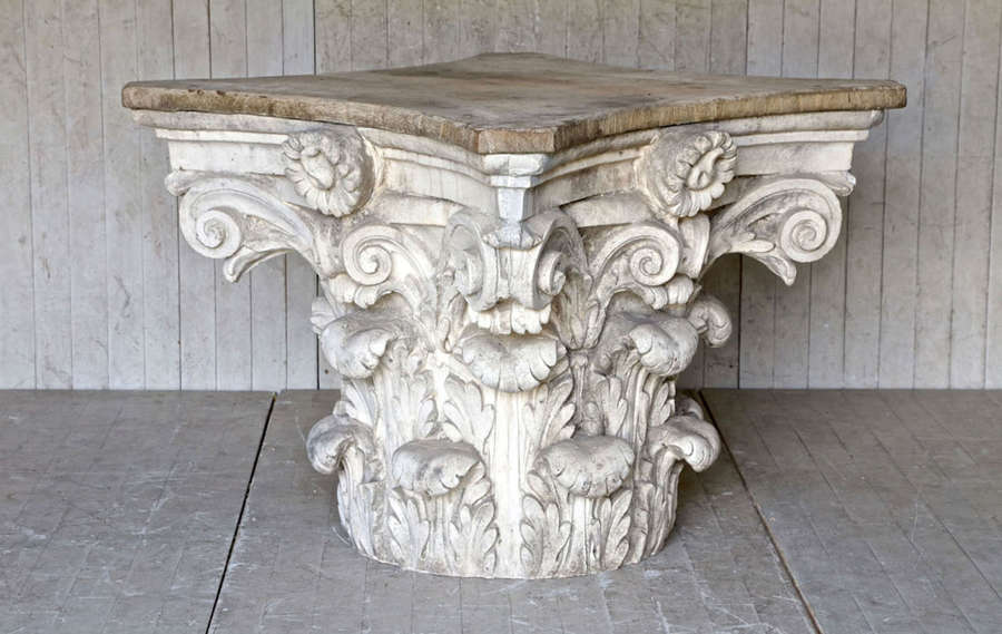 19th century French Corinthian Capital