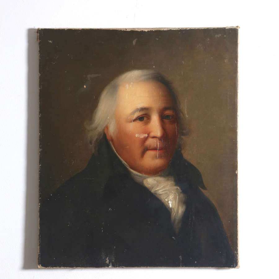 Early 19th century English Oil on Canvas Portrait