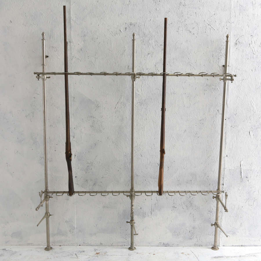 French Wall Gun Rack Storage System