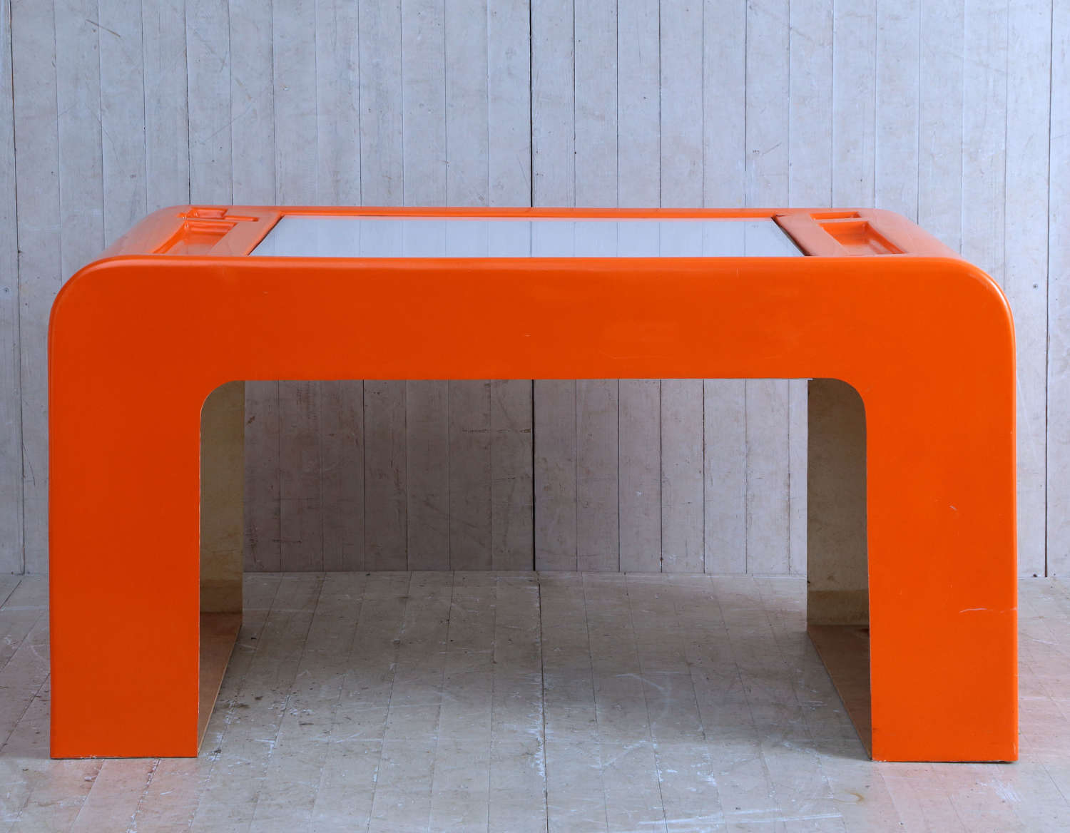 20th century French Lightbox Table constructed in Fibreglass
