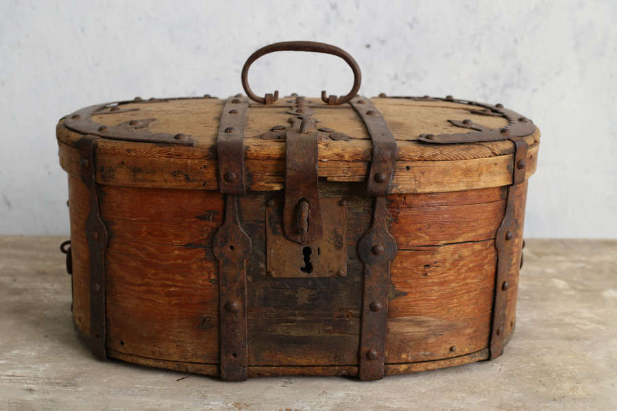 18th century Swedish Travel Box