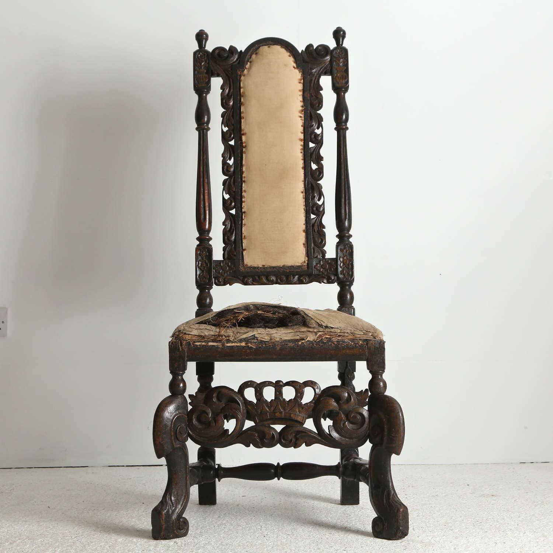 Early 17th century Swedish Chair